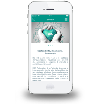 app sviluppo iPad iPhone android ios palermo italia sicilia software management system applicazioni catalogo digitale