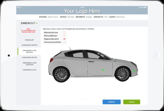 Car Rental Checklist Software App by My Appy